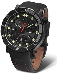 Vostok Europe Lunokhod 2 Automatik 6204208 schwarz/rot
