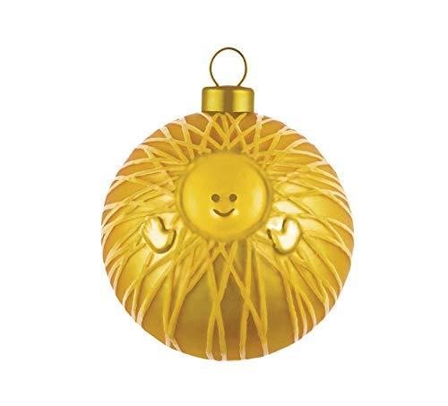 Top Shop Alessi AMJ13 Palla per Albero di Natale di Gesù Bambino in Vetro Soffiato. Confezione da 4 Pezzi