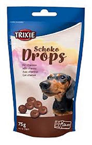 Trixie Schoko Drops, Chocolate, Vitaminados, 75 g