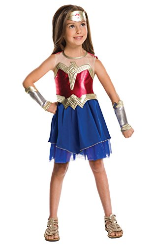 Official Dc Comics Wonder Woman Dawn Of Justice Outfit - Ages 5-10
