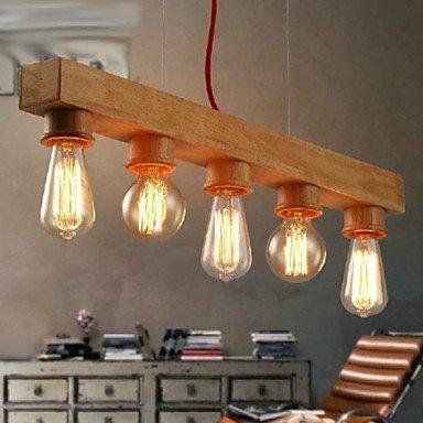 Lampe suspendue - Contemporain/Traditionnel/Classique - avec Style mini - Bois/Bambou ( Tension : 220-240V )