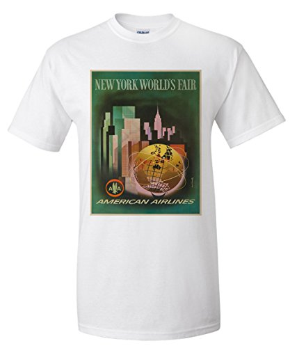american-airlines-new-york-worlds-fair-vintage-poster-artist-bencsathy-usa-c-1961-premium-t-shirt