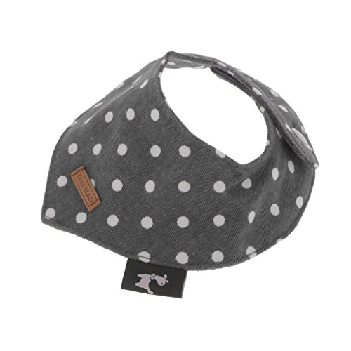 Sharplace 1 Stück Ersatz Gepunktet Muster Haustier Halsband, Zubehör für Hunde Katze und Welpen - Große Wählen - Grau, S