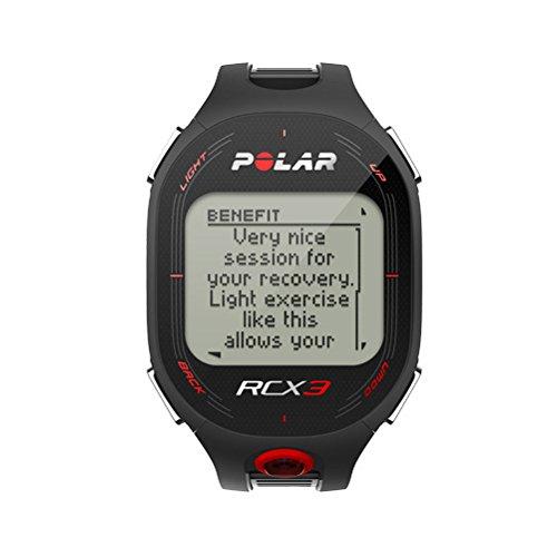 Pack Polar RCX3 - Reloj con pulsómetro con sensor de zancada y compatible con GPS y sensor de velocidad