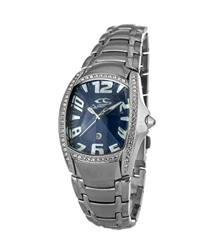 Chronotech orologio analogico quarzo uomo con cinturino in acciaio inox ct7988ls-03m