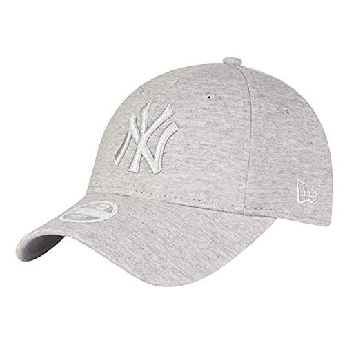 New Era WMNS MLB Jersey 9Forty Damen Adjustable Cap NY Yankees Hellgrau, Size:ONE Size