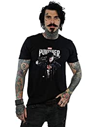 Marvel Hombre The Punisher TV Series Frank Castle Camiseta 7be2678c7e4aa