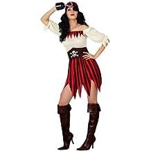 Atosa - Disfraz de pirata para mujer, talla M/L (15771)