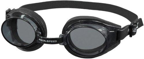Aqua Speed Kinder Schwimmbrille/Taucherbrille mit Anti-Fog Beschichtung und UV-Filter adria-001-07 (schwarz)