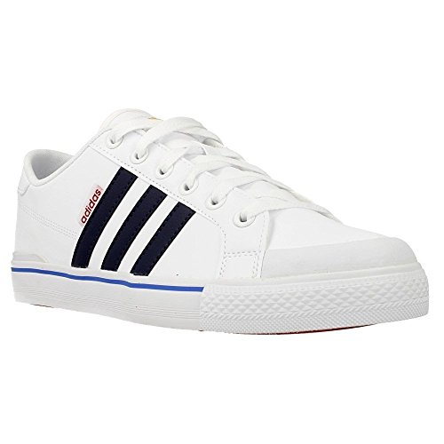 Adidas Clementes F98799 Chaussures Hommes Blanc-Noir