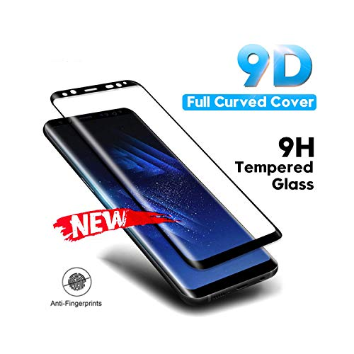LZHANDA Schutzfolie Gehärtetem Glas panzerglas Tempered Glass Film for Galaxy Note 8 9 S9 S8 Plus S7 Edge 9D Full Curved Screen Protector for A6 A8 Plus New for Samsung S7 Gold