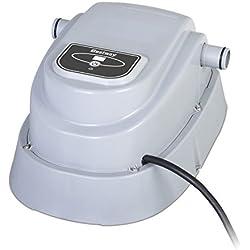 Bestway 58259 Rechauffeur Électrique 2 800 watts Class II, Augmente la Température de L'eau Approximativement entre 0,50 °C et 1,5 °C/h, pour Piscines Diam 457 et Inférieur