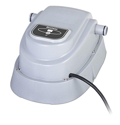 Calentador piscina (1.500-18.900 litros). - voltaje - potencia: 220- 240v. 2,800 w. A 20ºc. - aumenta la temperatura del agua aproximadamente entre 0,5- 1,5ºc/h dependiendo del volumen total del agua a calentar. - temperatura máxima: 40 ºc. - compati...