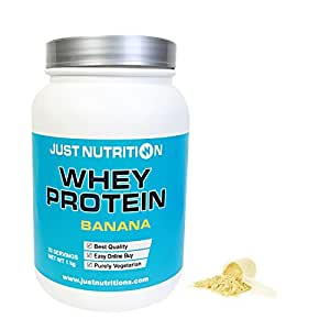 Just Nutrition Whey Protein 1 kg - (Banana), 33 Servings