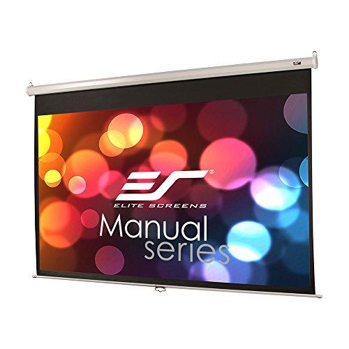 Elite Screens Manual M100XWH-E24 Rollo Leinwand 221,0cm x 124,5cm (BxH) 16:9 - Projektionsleinwände (Manuell, 2,54 m (100 Zoll), 2,21 m, 124,5 cm, 16:9) Elite Screens Manual