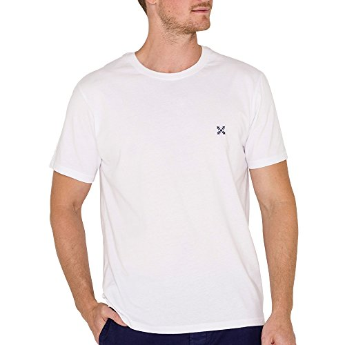Oxbow j1timboba Tee Shirt Maniche Corte Uomo, bianco, S