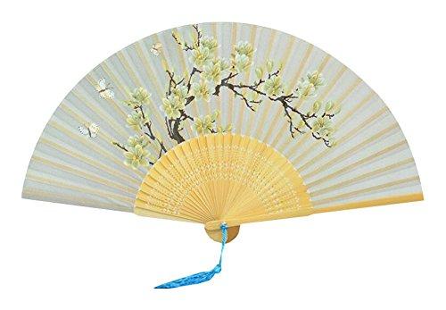 Elegante chinesische Weinlese-Retro Art-faltender Fan (Japanische Cosplay Kostüme Uk)