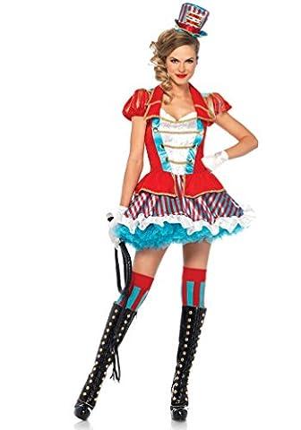 ,Karneval Klamotten' Kostüm Zirkusdirektorin Dame Luxus Karneval Clown Damenkostüm Größe 34/36