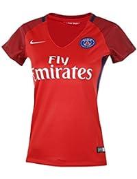 Nike Paris Saint Germain W NK Dry stad JSY SS AW – T-Shirt à Manches  Courtes pour Femmes, Couleur Rouge acd88e9aa5e1