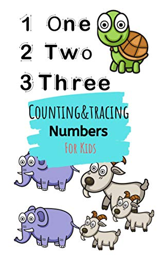 Counting And Tracing Number For Kids: Book for Ages 2-5 for Kids, Toddlers, Boys, Girls, Kids, preschool&Kindergarten,Math Activity Book,tracing book, ... Book,numbers tracing (English Edition)