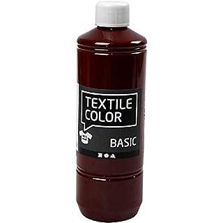 AGX Hochwertige Textilfarbe, 500 ml (Braun)