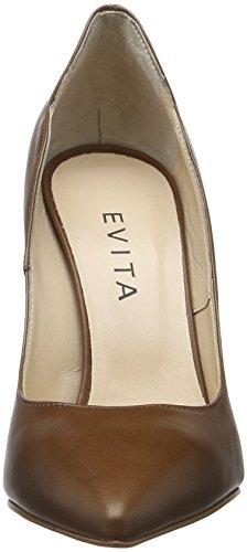 Evita Shoes Alina, Escarpins femme Braun (Cognac 26)