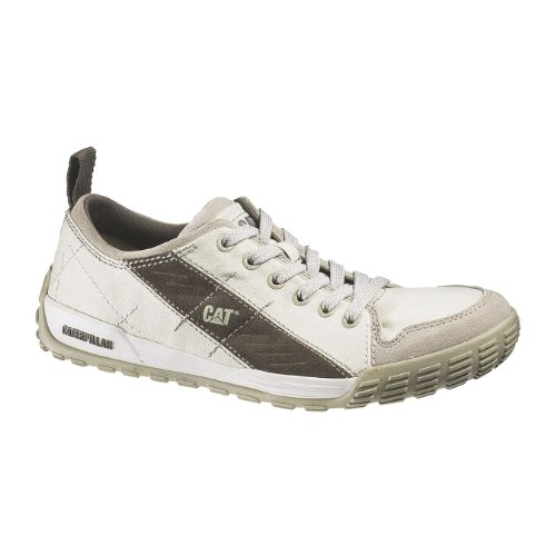 Caterpillar Vero Canvas, Chaussures basses homme Gris/beige (Smoke/worn brown)