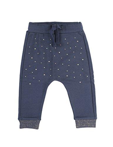 phister-philina-bit-studs-hose-pantalon-bebe-fille-bleu-blau-crown-blue-cro-24-mois