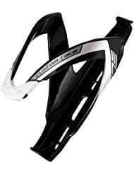 Elite Custom Race Bottle Cage Black Glossy White 2015