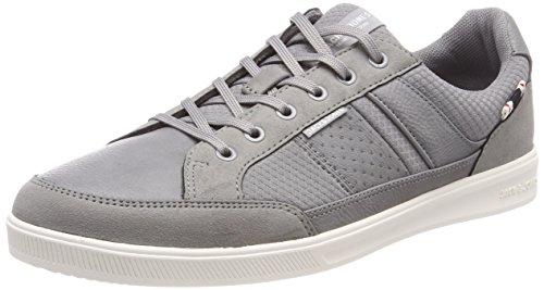 JACK & JONES Herren Jfwrayne Mesh Mix Frost Grey Sneaker, Grau (Frost Gray), 43 EU (Mesh-schuhe Grau)