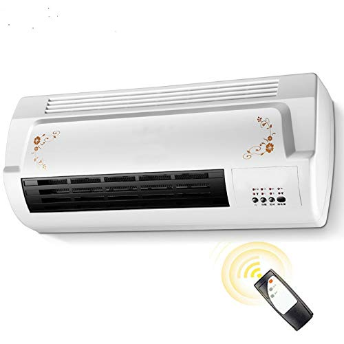 QFHWH Chaud Cool à Double Usage Air Blower Électrique radiateur Ventilateur Salle de Bain Tenture Murale Warmer Céramique Chauffage Thermique Radiateur conditionneur