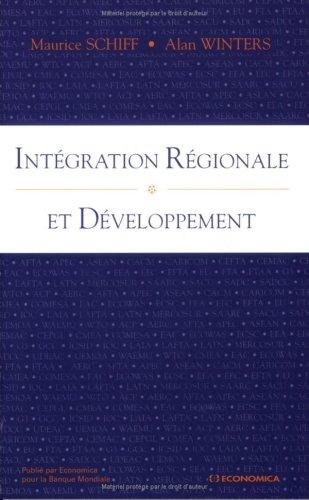 Intégration régionale et développement