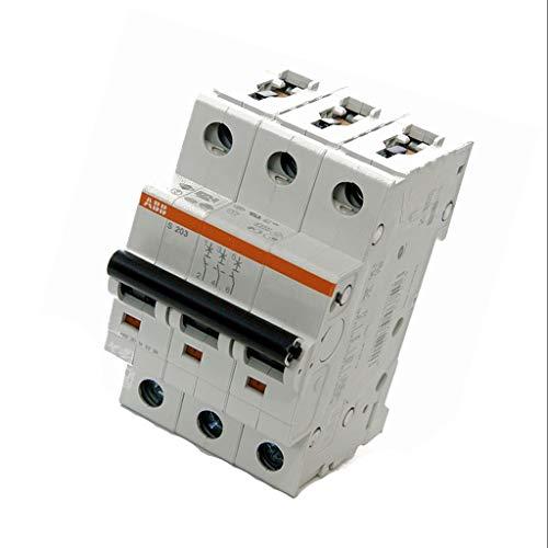 Rated Circuit Breaker (S203-B6 Circuit breaker 400VAC Inom6A Poles no3 Mounting DIN 6kA ABB)