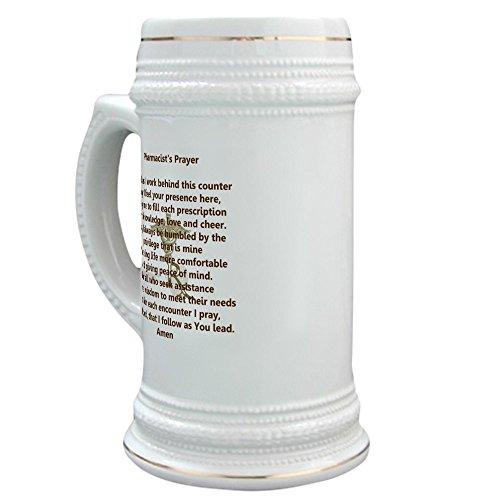 CafePress - Apothekergebet - Bierstein, 625 ml Keramik-Trinkbecher -