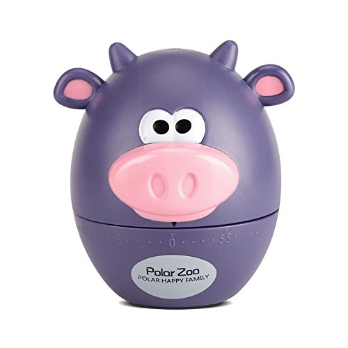 Cute Cartoon Küchen-Timer mit 60 Minuten kochen supplieslovely Hausaufgaben, mit Timer Purple Cattle