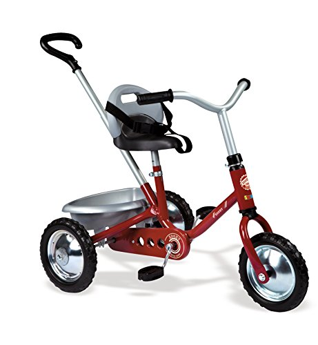 Smoby - 454015 - Zooky Classique - Tricycle Enfant - Rouge