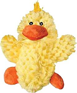 KONG Plush Duck Dog Toy, X-Small
