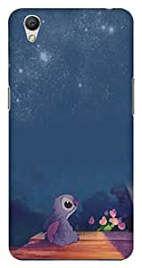 Wizzart OPPO A37f Back Cover Case In Designer Cases And Covers Lilo And Stitch Print Design
