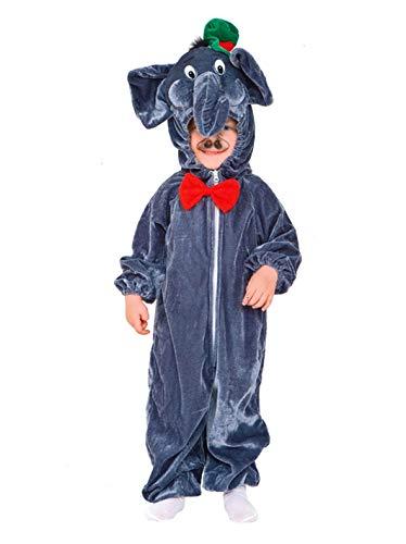Commerciale Italiana Disfraz de Elefante para bebé.