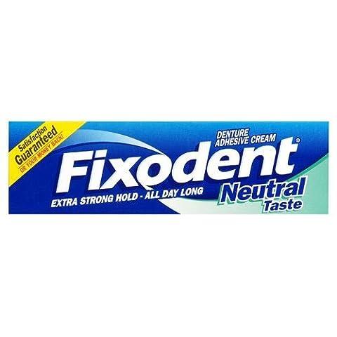Fixodent - Crème adhésive neutre pour