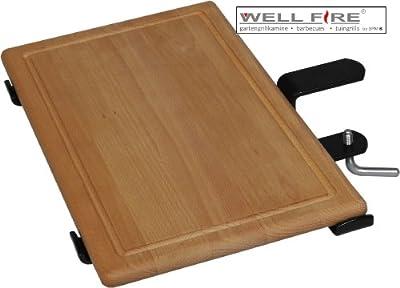 Ablageplatte Holz - Gerade / Wellfire