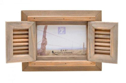 - Fenster Bilderrahmen–Holz