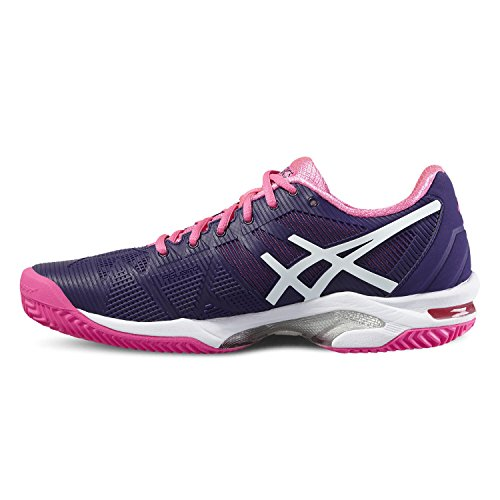 Asics Gel-Solution Speed 3 Clay, Tennis women lilas