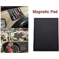 Bandeja magnética flexible para organizar herramientas, antideslizante, soporte para almohadilla magnética, sostiene tus herramientas, herramienta de reparación de trabajo una mejor adición a la caja de herramientas, tamaño 28 x 20 cm