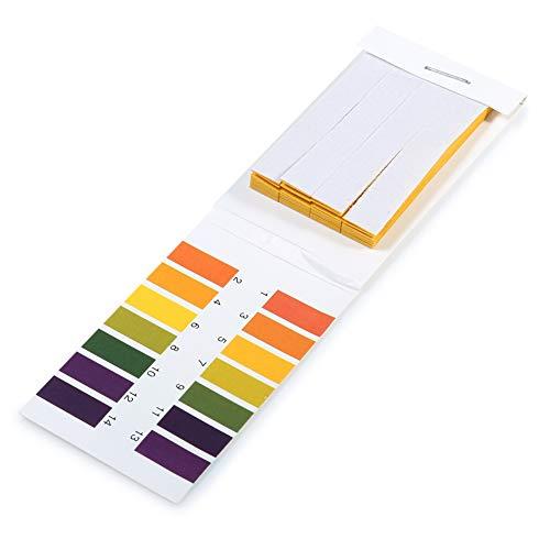 1pack (80pcs) PH Lackmuspapier 14.01 Alkaline Acid Test Papier Tragbarer Wasser Lackmus-Test-Kit