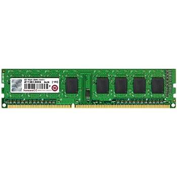 Transcend JM1333KLH-4G - Tarjeta de memoria RAM DDR3 para ordenadores de sobremesa (4 GB, 1333 MHz, 240 pines, CL9)