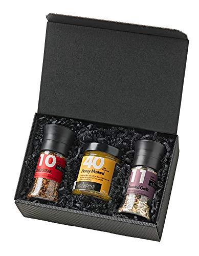 ürze-Set zum Grillen für Männer / Geschenk mit zwei Mischungen und Honig-Senf ()