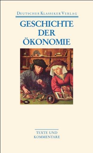 Geschichte der Ökonomie (DKV Taschenbuch)