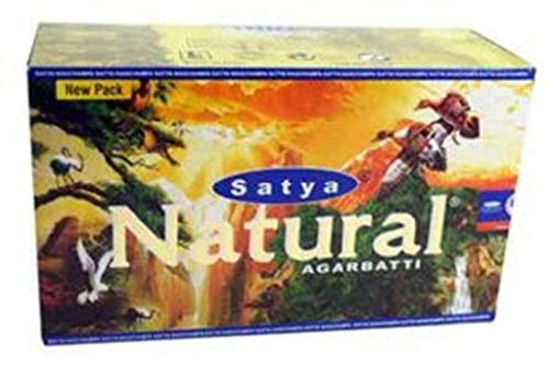 Billion deals- satya nag champa - bastoncini di incenso, aroma: agarbatti, aroma: masala, confezione da 12 pezzi, 180 g, in legno