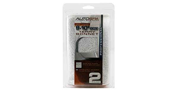 "Carrand 40400AS AutoSpa Cotton Terry 5-6/"" Polishing Bonnet"